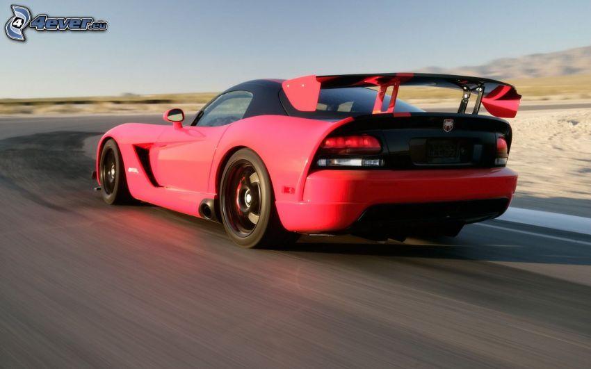 Dodge Viper Srt 10, coche deportivo, acelerar