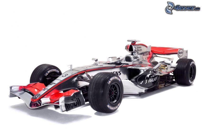 F1 McLaren Mercedes, Fórmula 1, monoposto