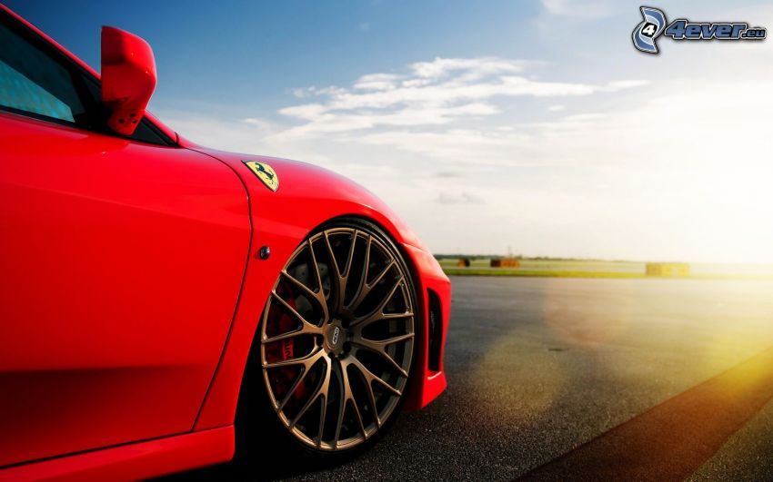 Ferrari, rueda, disco