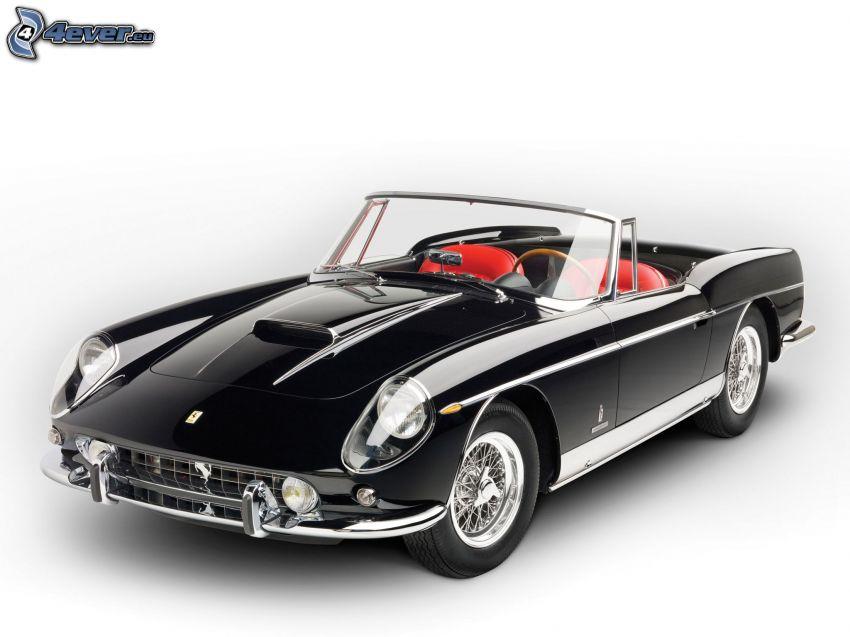 Ferrari 400 Superamerica, veterano, descapotable