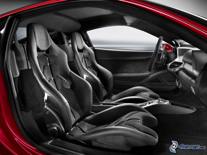 Ferrari 458 Spider, interior