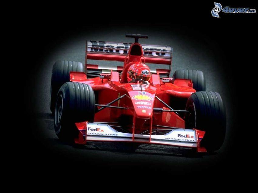 Ferrari F1, fórmula