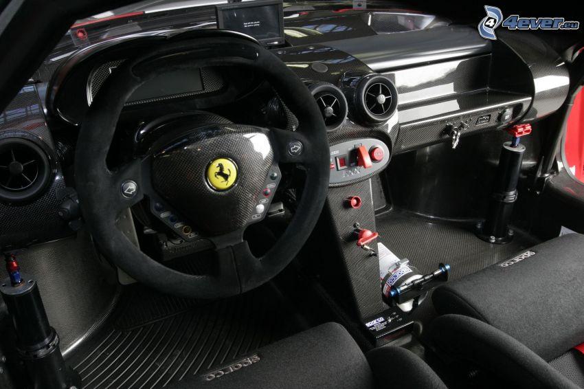 Ferrari FXX, interior