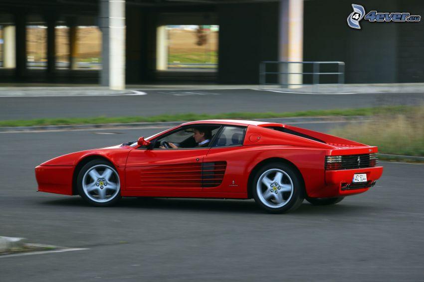 Ferrari TR, acelerar