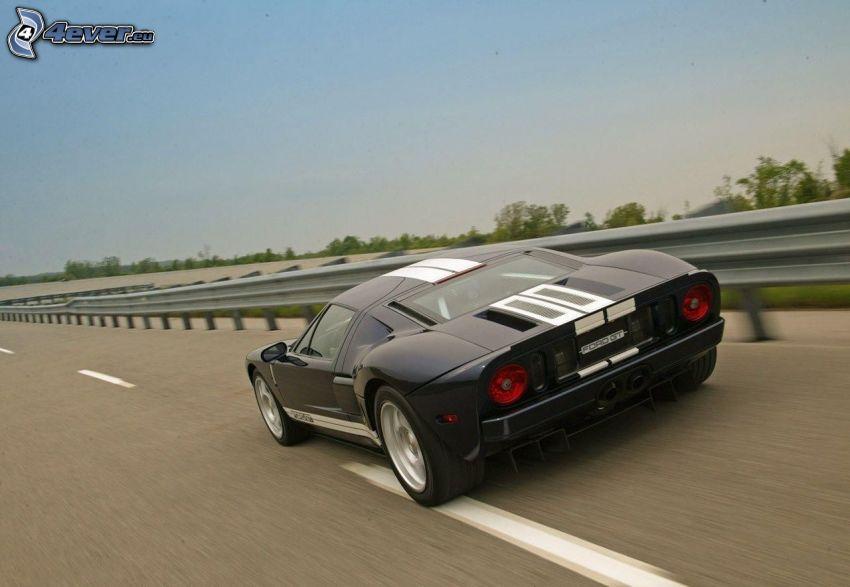 Ford GT, acelerar, camino