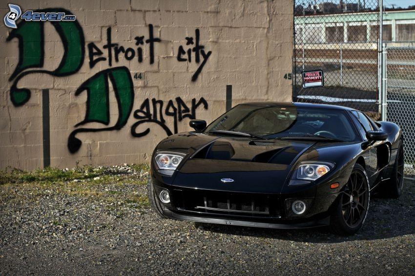 Ford GT, grafiti