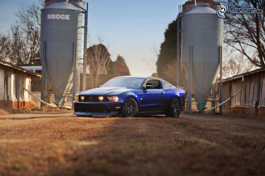 Ford Mustang RTR-X, industria