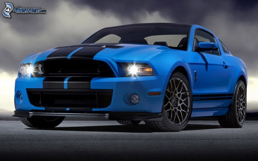 Ford Mustang Shelby GT500, nubes