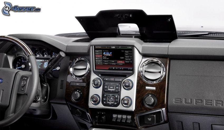 Ford Super Duty, interior, cuadro de mandos - salpicadero