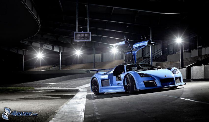 Gumpert Apollo, puerta, coche deportivo, carreras en circuito