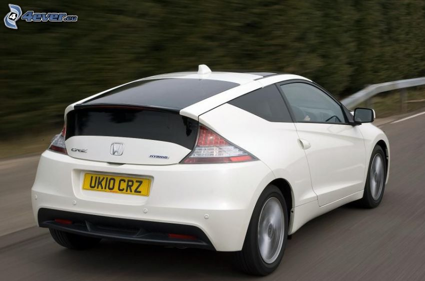 Honda CR-Z, acelerar