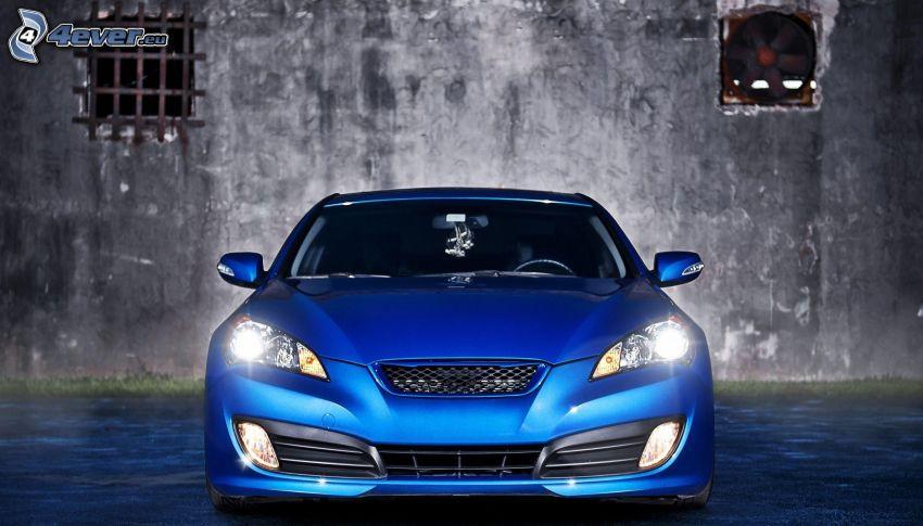 Hyundai Genesis, delantera de coche, luces