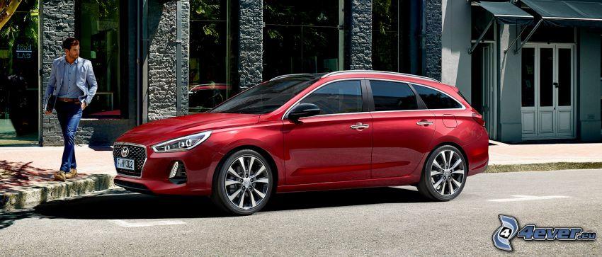 Hyundai i30, calle