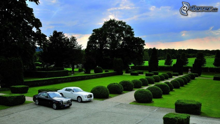 jardín, Rolls-Royce