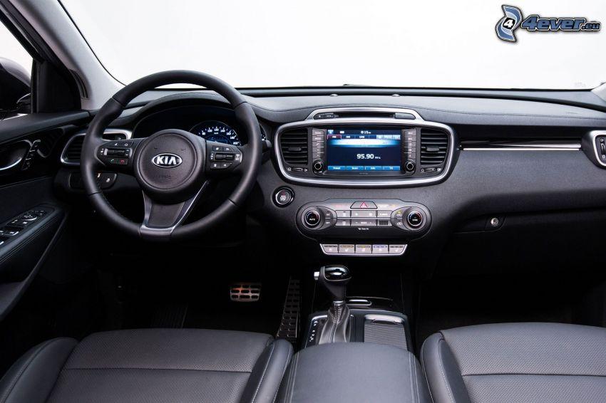 Kia Sorento, volante, cuadro de mandos - salpicadero, interior