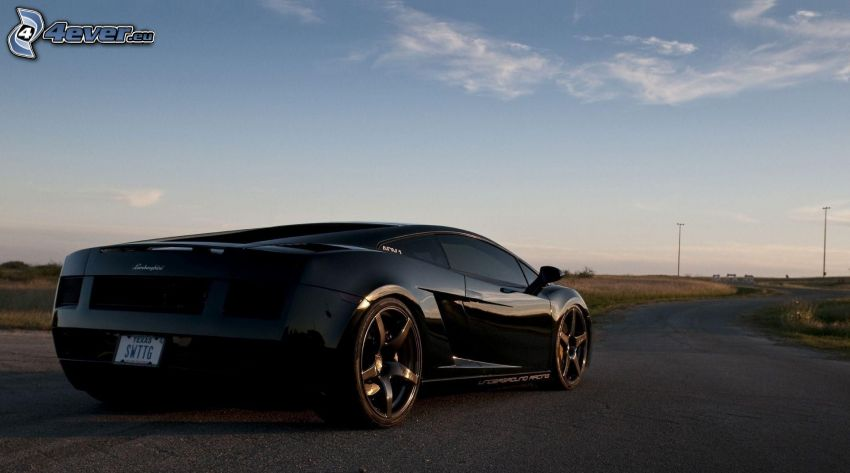 Lamborghini, camino