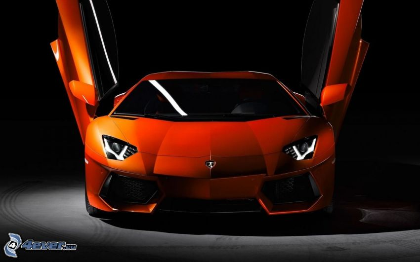 Lamborghini Aventador, puerta