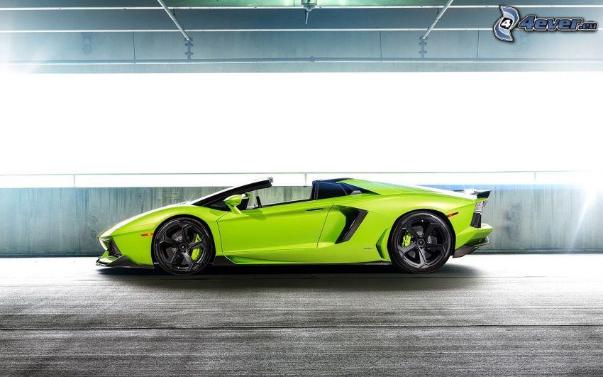 Lamborghini Aventador LP700, descapotable