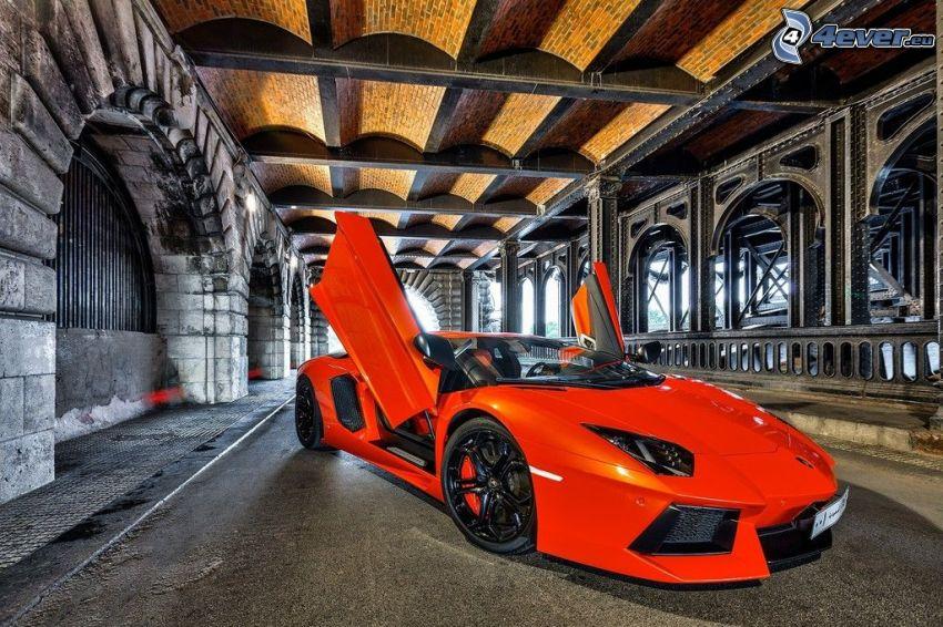 Lamborghini Aventador LP700, puerta