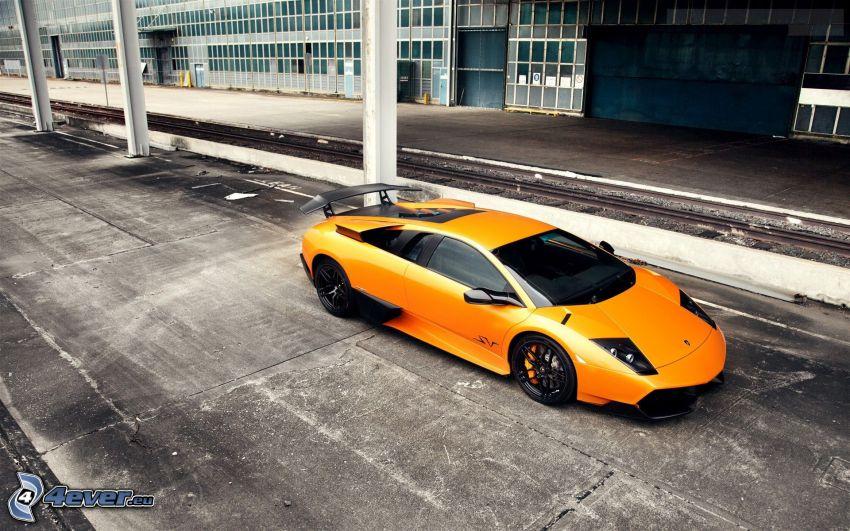 Lamborghini Murciélago, camino, carril