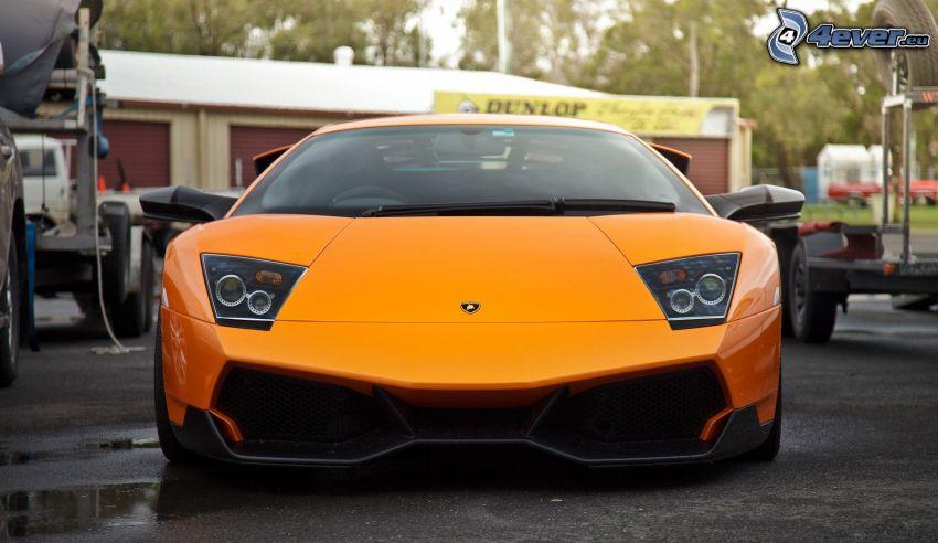 Lamborghini Murciélago, delantera de coche