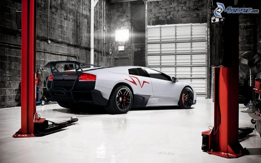 Lamborghini Murciélago, taller