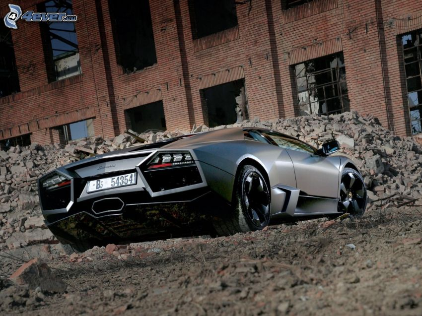 Lamborghini Reventón, antiguo edificio
