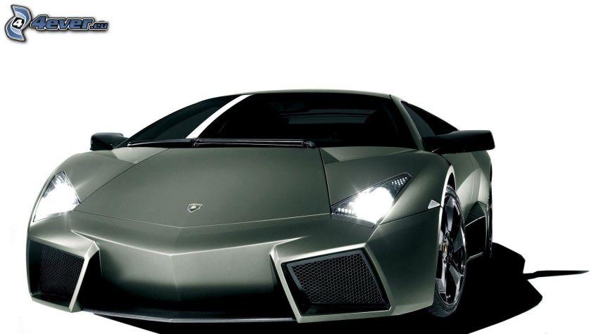 Lamborghini Reventón, delantera de coche