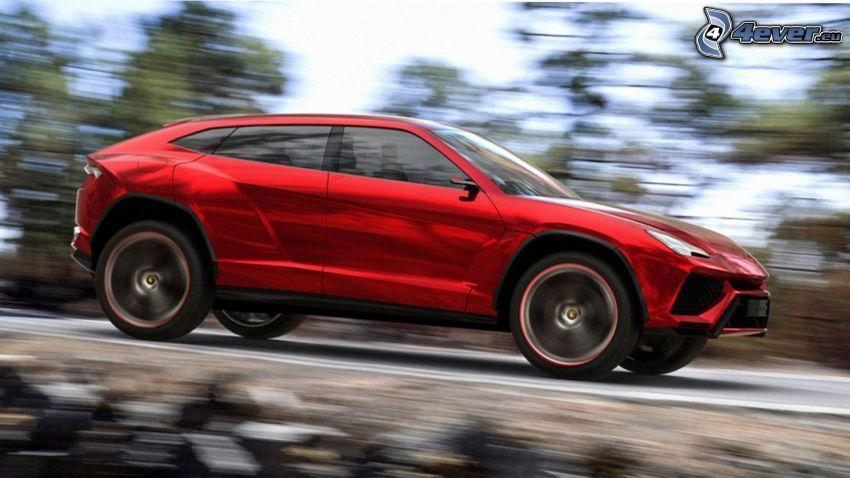 Lamborghini Urus, acelerar