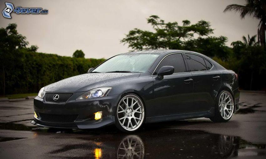 Lexus IS 250, charco