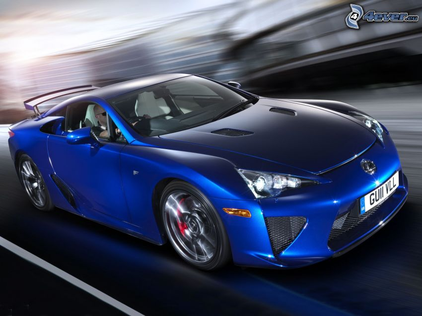 Lexus LFA, acelerar