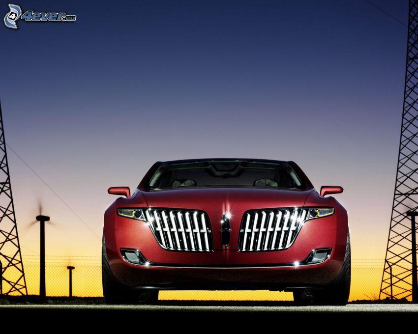 Lincoln MKR, cielo de la tarde