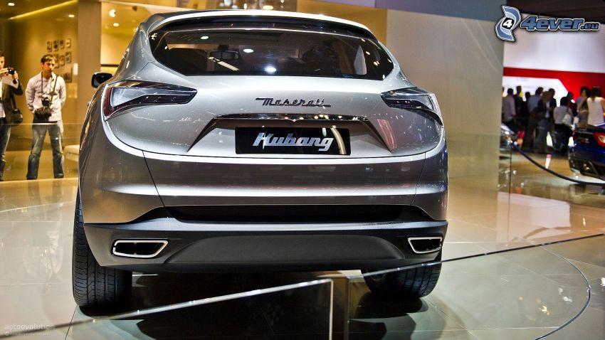 Maserati Kubang, exposición, Motor Show