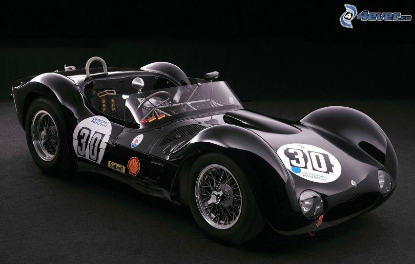 Maserati Tipo 61, descapotable, coche de carreras