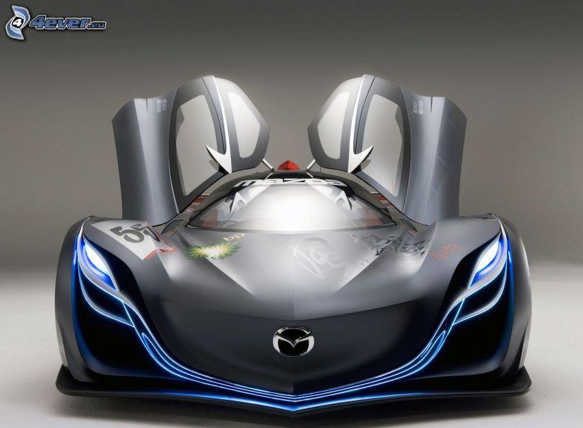 Mazda Furai, concepto, delantera de coche, puerta