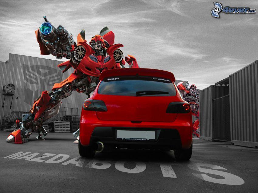 Mazda RX7, Transformers