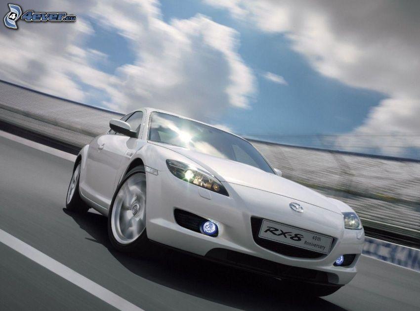 Mazda RX8, acelerar