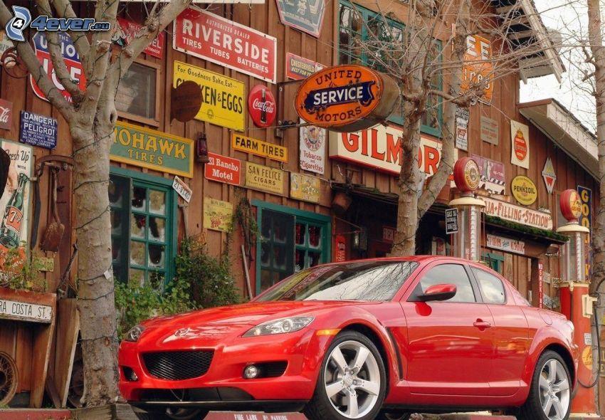 Mazda RX8, edificio