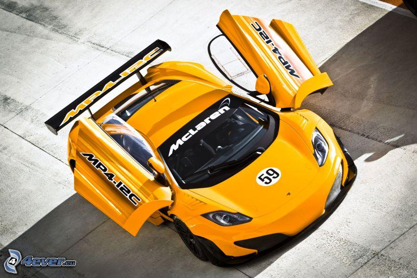McLaren MP4-12C, puerta