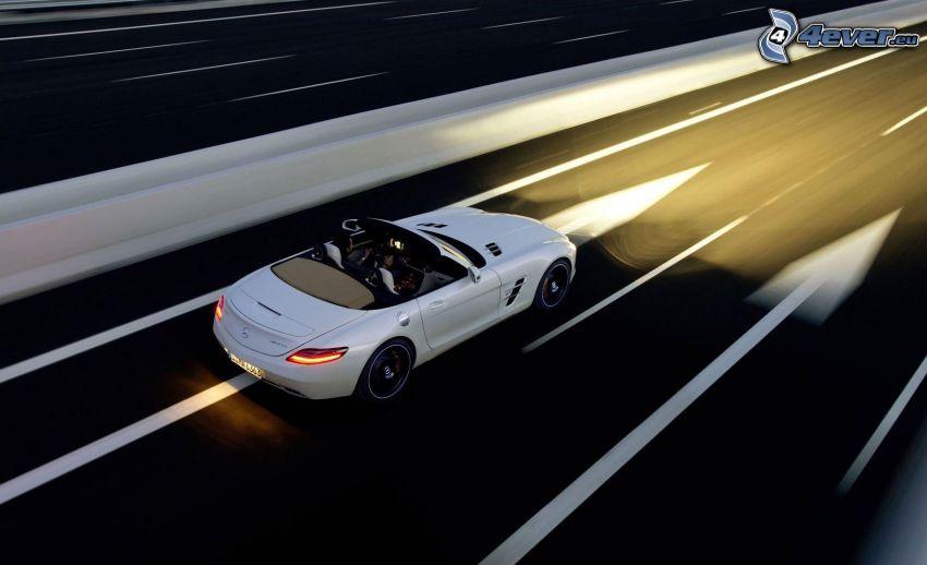 Mercedes-Benz, camino, acelerar