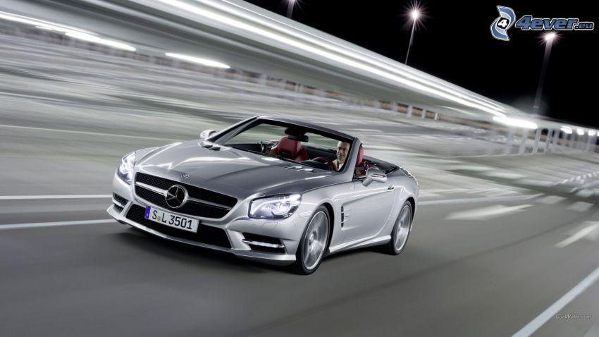 Mercedes-Benz, camino, descapotable