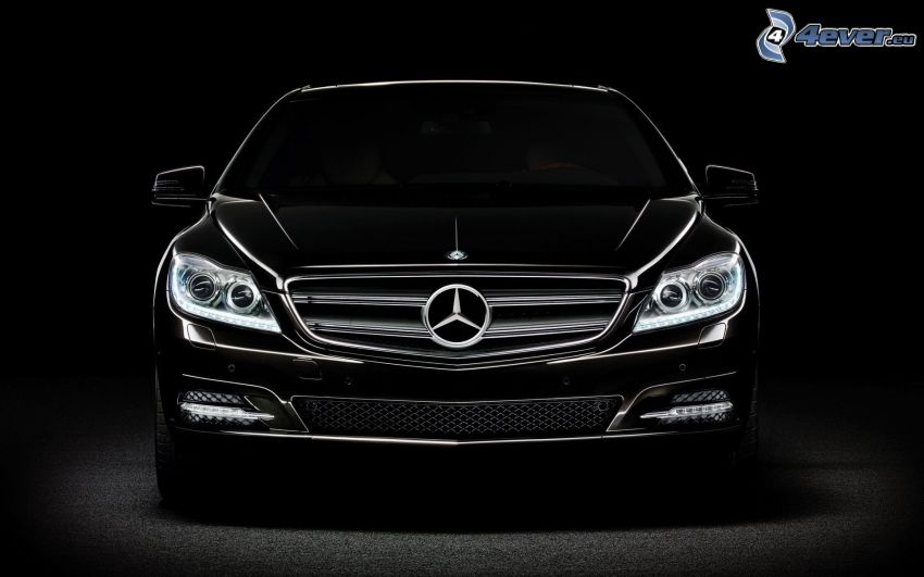 Mercedes-Benz, fondo negro