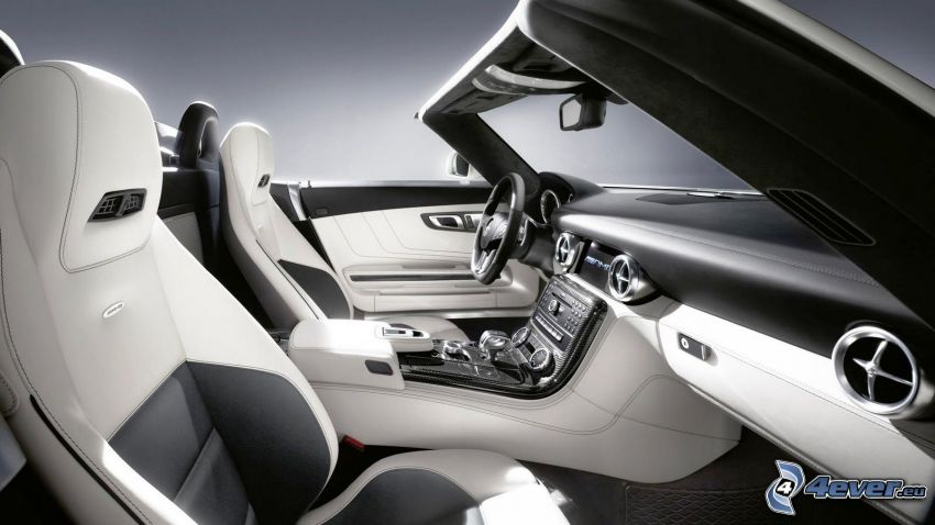 Mercedes-Benz, interior