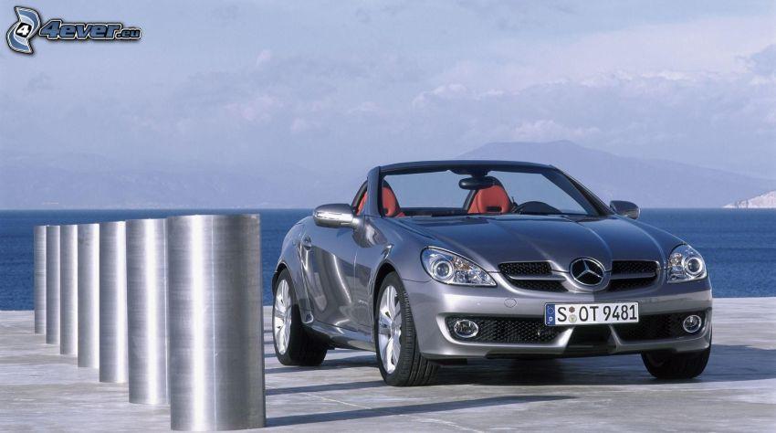 Mercedes-Benz SLK, descapotable, mar
