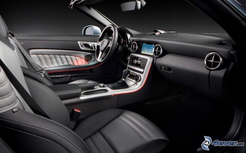 Mercedes-Benz SLK, interior, volante