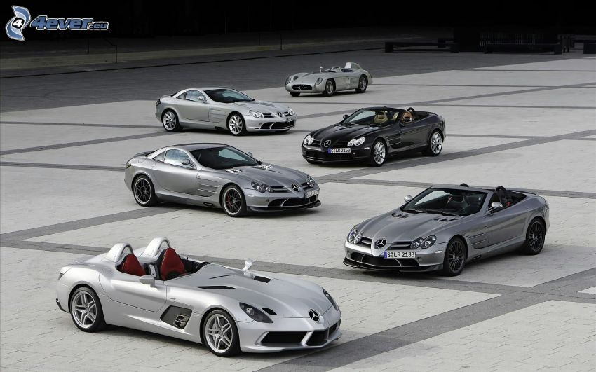 Mercedes-Benz SLR McLaren, evolución, descapotable
