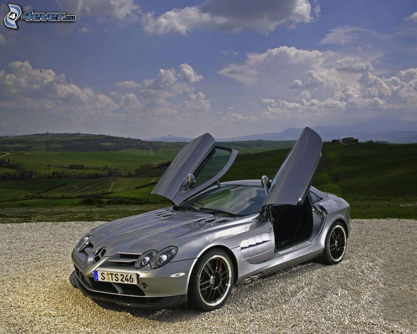 Mercedes-Benz SLR McLaren, puerta