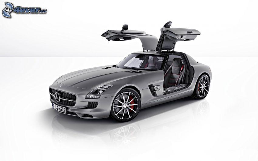 Mercedes-Benz SLS AMG, puerta