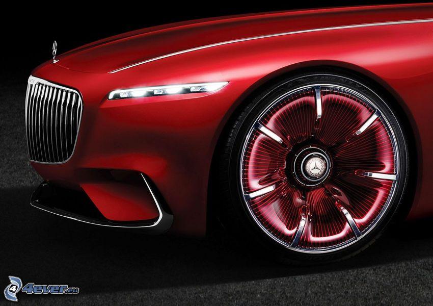 Mercedes-Maybach 6, rueda
