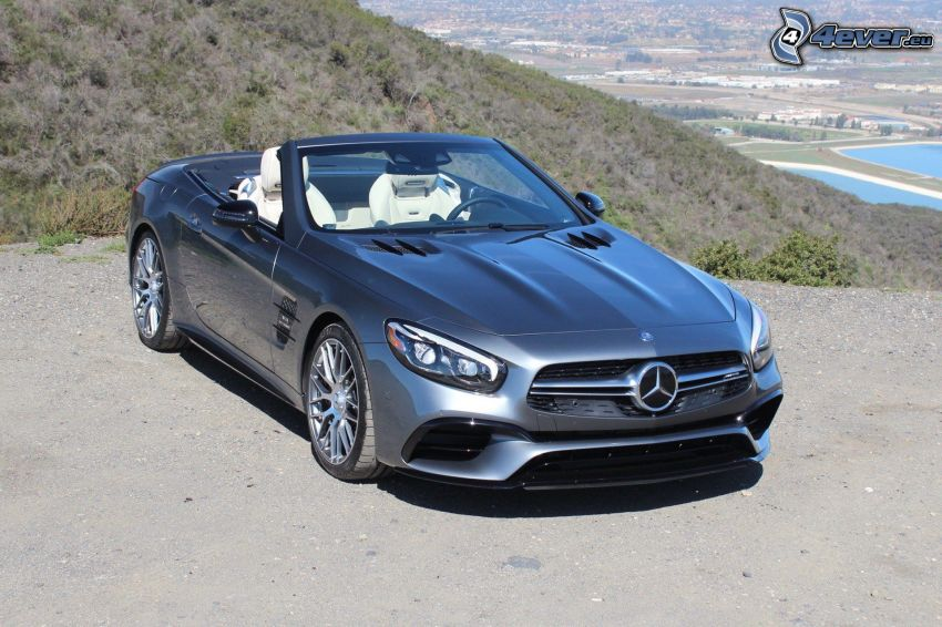 Mercedes SL, descapotable